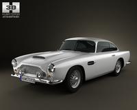 Aston Martin DB4 1958 3D Model