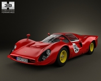 Ferrari 330 P4 1967 3D Model