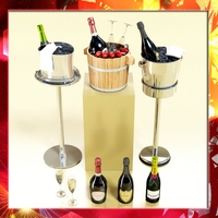 Champagne Ice Bucket Collection 3D Model