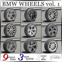 BMW wheels vol. 1 3D Model