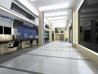 Office 100 3D Model