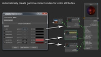 Free Gamma Correct Color Swatches for Maya 1.0.0 (maya script)