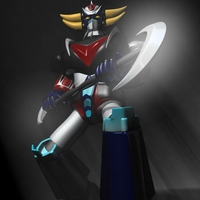 Goldorak - Grendizer RIGGED 3D Model