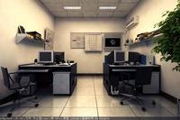 Office 155 3D Model