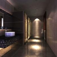 Public Toilet 002 3D Model