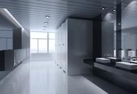 Public Toilet 005 3D Model