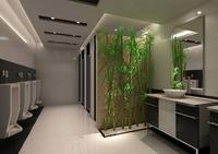 Public Toilet 006 3D Model