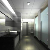 Public Toilet 012 3D Model