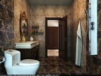 Public Toilet 020 3D Model