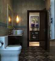 Public Toilet 021 3D Model