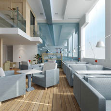Restaurant 002 3D Model