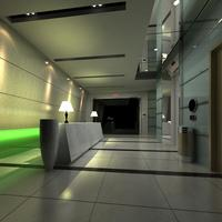 Reception Space 012 3D Model