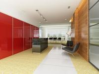 Reception Space 014 3D Model