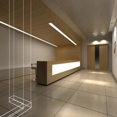 Reception Space 018 3D Model