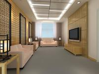 Reception Space 019 3D Model