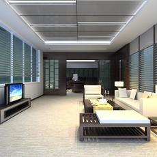 Reception Space 022 3D Model