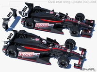 Indycar 2012 - DW001 3D Model
