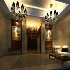 Reception Space 026 3D Model