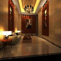 Reception Space 036 3D Model