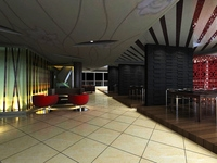 Reception Space 037 3D Model