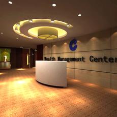 Reception Space 042 3D Model