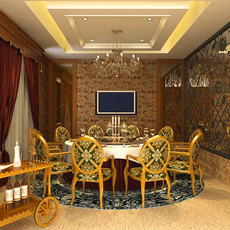 Restaurant 006 3D Model