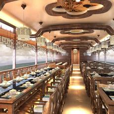 Restaurant 007 3D Model