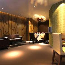Restaurant 008 3D Model