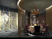 Restaurant 009 3D Model