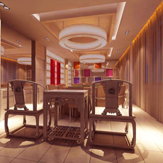 Restaurant 010 3D Model