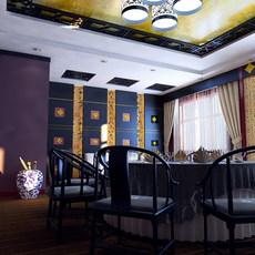 Restaurant 011 3D Model