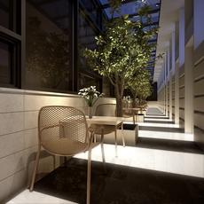 Restaurant 013 3D Model