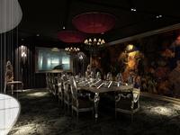 Restaurant 015 3D Model