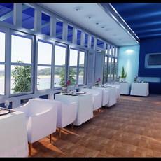 Restaurant 017 3D Model