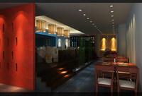 Restaurant 019 3D Model