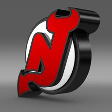 New Jersey Devils Logo  3D Model