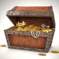 Pirates Chest 3D Model