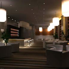 Restaurant 033 3D Model