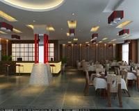 Restaurant 034 3D Model