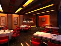 Restaurant 047 3D Model