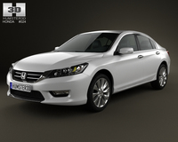 Honda Accord (Inspire) 2013 3D Model