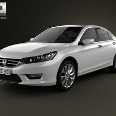 Honda Accord (Inspire) 2013 3D Model