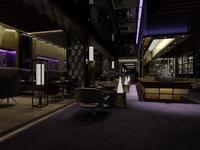 Restaurant 051 3D Model