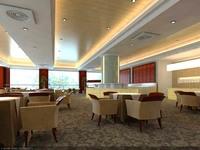 Restaurant 063 3D Model