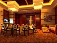 Restaurant 065 3D Model