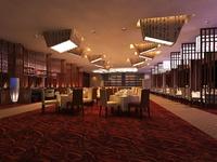 Restaurant 067 3D Model