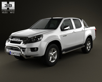 Isuzu D-Max Double Cab 2012 3D Model