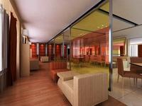Restaurant 071 3D Model