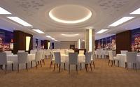 Restaurant 076 3D Model