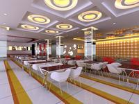 Restaurant 080 3D Model